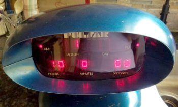 Mystery Nixie Clock From 2001: A Space Odyssey, And Pulsar