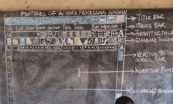 Ghanaian Teacher Who Drew Microsoft Word On A Chalk Board For His Students Gets Computers Donated