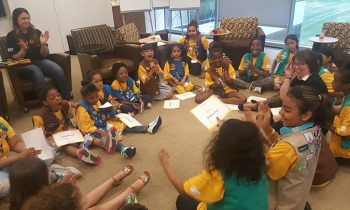 The First-Ever Homeless Girl Scout Troop Just Crushed Their Cookie Sales Goal