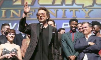 Robert Downey Jr.'s Heartfelt Infinity War Premiere Speech Was Perfect