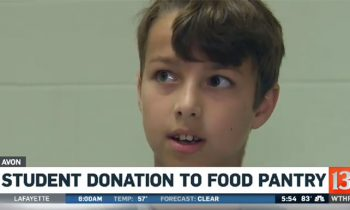 Boy Saved Money For Video Games But Donates All $450 To Local Food Pantry