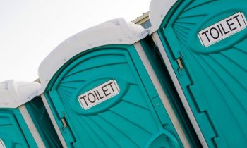 Violent Colorado Winds Turn Empty Porta Potties Into Rockets