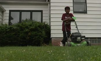 Neighbors Call Police On 12-Year-Old Boy For Cutting Grass. Now His Business Is Booming