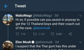 Twitter User Convinces Elon Musk To Help The Boysand#039; Soccer Team Trapped In A Cave