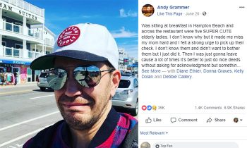 Singer Andy Grammer Pays Bill For Elderly Ladies, Then Realizes How Connected We All Are