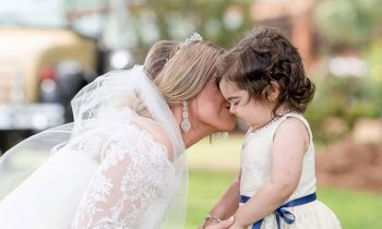 3-Year-Old Cancer Survivor Serves As Flower Girl At Bone Marrow Donorand#039;s Wedding