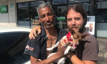 Man Raises Money For Homeless and#039;Angeland#039; Who Rescued And Cared For His Missing Dog