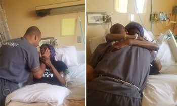Police Officers Take Inmate To See Dying Mother In Hospital