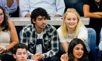 Nick Jonas, Priyanka Chopra, Joe Jonas, and Sophie Turner Went on a Double Date to the U.S. Open