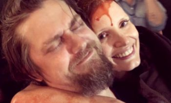 Jessica Chastain Gets Bloody in IT 2 Set Photo as She Wraps Filming